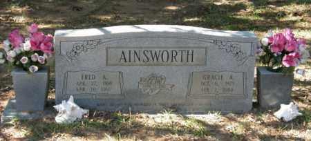 AINSWORTH, GRACIE A - La Salle County, Louisiana   GRACIE A AINSWORTH - Louisiana Gravestone Photos