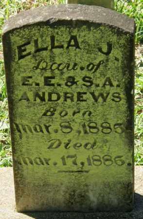 ANDREWS, ELLA J - La Salle County, Louisiana | ELLA J ANDREWS - Louisiana Gravestone Photos