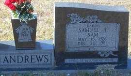 "ANDREWS, SAMUEL T ""SAM"" - La Salle County, Louisiana   SAMUEL T ""SAM"" ANDREWS - Louisiana Gravestone Photos"