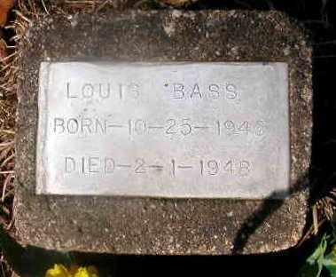 BASS, LOUIS - La Salle County, Louisiana   LOUIS BASS - Louisiana Gravestone Photos