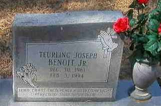 BENOIT, TEURLING JOSEPH, JR - La Salle County, Louisiana | TEURLING JOSEPH, JR BENOIT - Louisiana Gravestone Photos