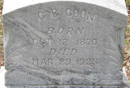 COON, C B - La Salle County, Louisiana | C B COON - Louisiana Gravestone Photos