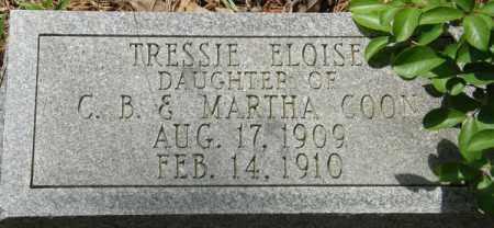 COON, TRESSIE ELOISE - La Salle County, Louisiana | TRESSIE ELOISE COON - Louisiana Gravestone Photos