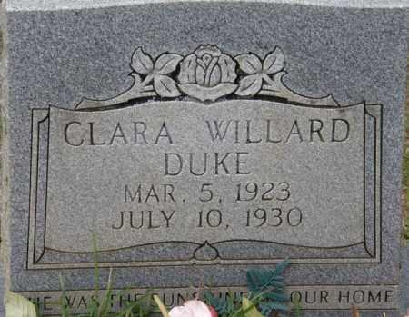 DUKE, CLARA - La Salle County, Louisiana   CLARA DUKE - Louisiana Gravestone Photos