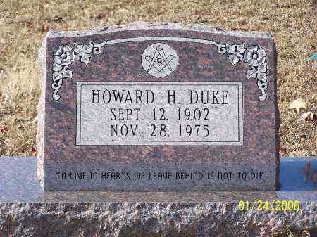 DUKE, HOWARD H - La Salle County, Louisiana   HOWARD H DUKE - Louisiana Gravestone Photos