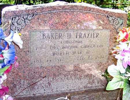 FRAZIER, BAKER H - La Salle County, Louisiana   BAKER H FRAZIER - Louisiana Gravestone Photos