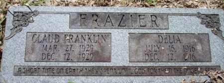 FRAZIER, DELIA - La Salle County, Louisiana | DELIA FRAZIER - Louisiana Gravestone Photos
