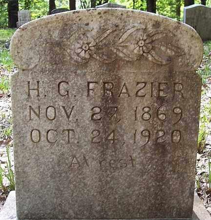 FRAZIER, H G - La Salle County, Louisiana | H G FRAZIER - Louisiana Gravestone Photos