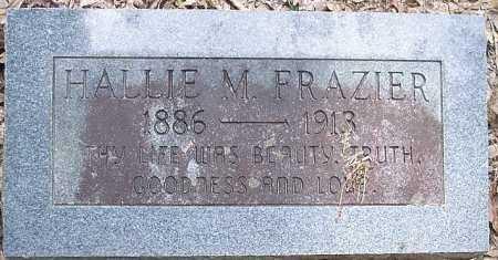 FRAZIER, HALLIE M. - La Salle County, Louisiana   HALLIE M. FRAZIER - Louisiana Gravestone Photos