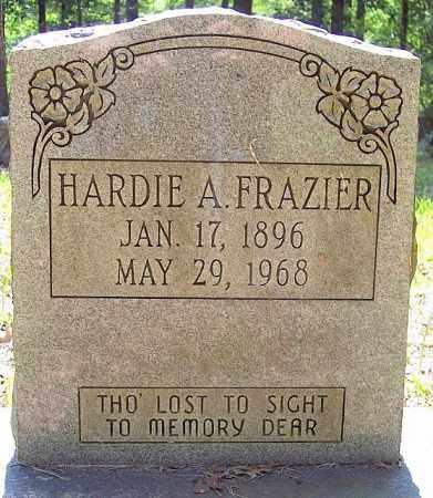 FRAZIER, HARDIE A. - La Salle County, Louisiana   HARDIE A. FRAZIER - Louisiana Gravestone Photos