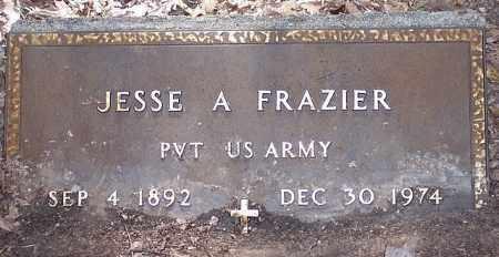 FRAZIER, JESSE A. (VETERAN) - La Salle County, Louisiana   JESSE A. (VETERAN) FRAZIER - Louisiana Gravestone Photos