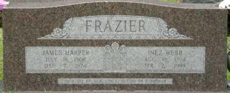 FRAZIER, JAMES HARPER - La Salle County, Louisiana | JAMES HARPER FRAZIER - Louisiana Gravestone Photos