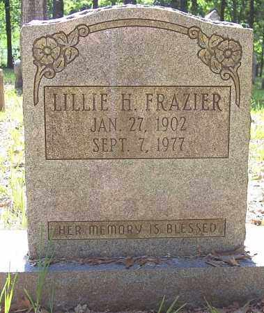 FRAZIER, LILLIE - La Salle County, Louisiana   LILLIE FRAZIER - Louisiana Gravestone Photos