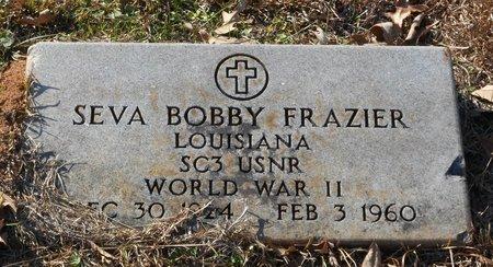 FRAZIER, SEVA BOBBY (VETERAN WWII) - La Salle County, Louisiana | SEVA BOBBY (VETERAN WWII) FRAZIER - Louisiana Gravestone Photos