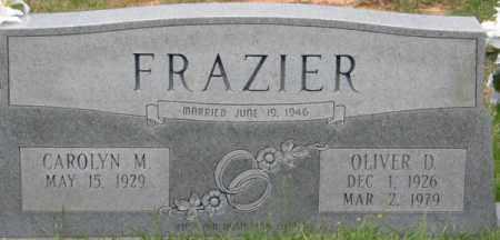 FRAZIER, OLIVER D - La Salle County, Louisiana | OLIVER D FRAZIER - Louisiana Gravestone Photos