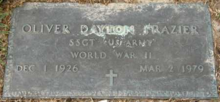 FRAZIER, OLIVER DAYTON (VETERAN WWII) - La Salle County, Louisiana | OLIVER DAYTON (VETERAN WWII) FRAZIER - Louisiana Gravestone Photos