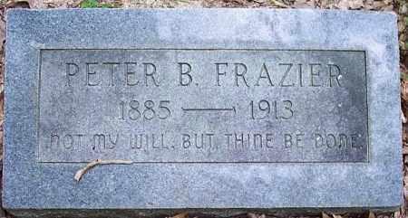 FRAZIER, PETER B - La Salle County, Louisiana | PETER B FRAZIER - Louisiana Gravestone Photos