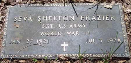 FRAZIER, SEVA SHELTON (VETERANWWII) - La Salle County, Louisiana | SEVA SHELTON (VETERANWWII) FRAZIER - Louisiana Gravestone Photos