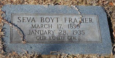 FRAZIER, SEVA BOYT - La Salle County, Louisiana   SEVA BOYT FRAZIER - Louisiana Gravestone Photos