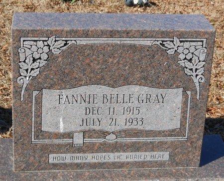 GRAY, FANNIE BELLE - La Salle County, Louisiana   FANNIE BELLE GRAY - Louisiana Gravestone Photos