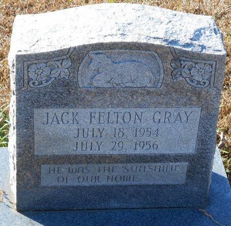 GRAY, JACK FELTON - La Salle County, Louisiana | JACK FELTON GRAY - Louisiana Gravestone Photos