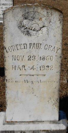 GRAY, LOREED - La Salle County, Louisiana | LOREED GRAY - Louisiana Gravestone Photos