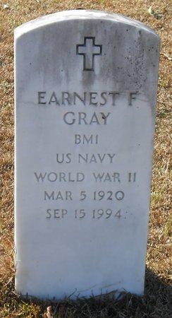 GRAY, EARNEST FELTON (VETERAN WWII) - La Salle County, Louisiana   EARNEST FELTON (VETERAN WWII) GRAY - Louisiana Gravestone Photos
