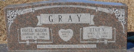 GRAY, UTAH VANCE - La Salle County, Louisiana | UTAH VANCE GRAY - Louisiana Gravestone Photos