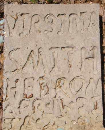 SMITH HEBRON, VIRGINIA - La Salle County, Louisiana | VIRGINIA SMITH HEBRON - Louisiana Gravestone Photos