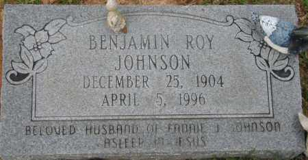 JOHNSON, BENJAMIN ROY - La Salle County, Louisiana | BENJAMIN ROY JOHNSON - Louisiana Gravestone Photos