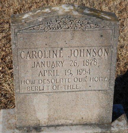 JOHNSON, CAROLINE - La Salle County, Louisiana | CAROLINE JOHNSON - Louisiana Gravestone Photos