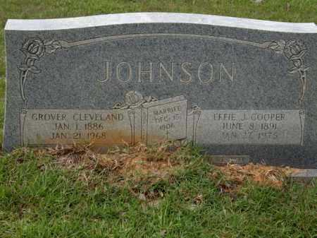 JOHNSON, GROVER CLEVELAND - La Salle County, Louisiana   GROVER CLEVELAND JOHNSON - Louisiana Gravestone Photos