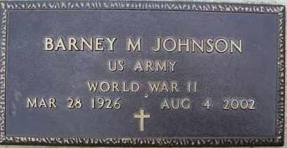JOHNSON, BARNEY M (VETERAN WWII) - La Salle County, Louisiana   BARNEY M (VETERAN WWII) JOHNSON - Louisiana Gravestone Photos
