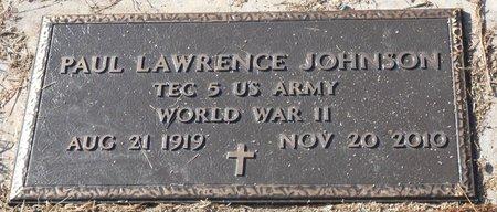JOHNSON, PAUL LAWRENCE (VETERAN WWII) - La Salle County, Louisiana   PAUL LAWRENCE (VETERAN WWII) JOHNSON - Louisiana Gravestone Photos
