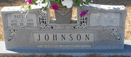 JOHNSON, PAUL L - La Salle County, Louisiana   PAUL L JOHNSON - Louisiana Gravestone Photos