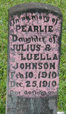 JOHNSON, PEARLIE - La Salle County, Louisiana | PEARLIE JOHNSON - Louisiana Gravestone Photos
