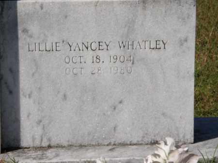 YANCEY JONES, LILLIE - La Salle County, Louisiana | LILLIE YANCEY JONES - Louisiana Gravestone Photos