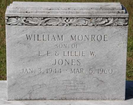 JONES, WILLIAM MONROE - La Salle County, Louisiana | WILLIAM MONROE JONES - Louisiana Gravestone Photos