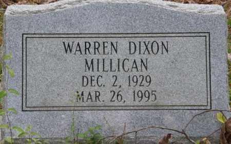 MILLICAN, WARREN DIXON - La Salle County, Louisiana   WARREN DIXON MILLICAN - Louisiana Gravestone Photos