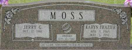 MOSS, KARYN - La Salle County, Louisiana | KARYN MOSS - Louisiana Gravestone Photos