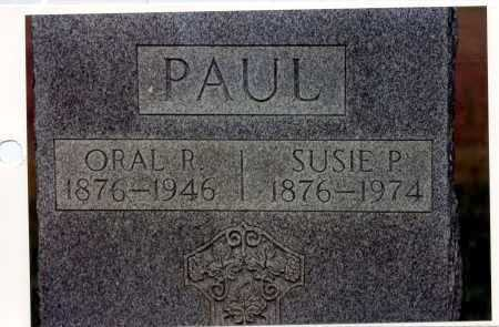 PAUL, ORAL R - La Salle County, Louisiana | ORAL R PAUL - Louisiana Gravestone Photos