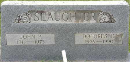 SLAUGHTER, JOHN P - La Salle County, Louisiana | JOHN P SLAUGHTER - Louisiana Gravestone Photos