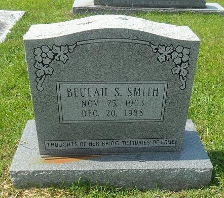 SMITH, BEULAH   - La Salle County, Louisiana | BEULAH   SMITH - Louisiana Gravestone Photos