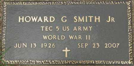 SMITH, HOWARD G, JR  (VETERAN WWII) - La Salle County, Louisiana | HOWARD G, JR  (VETERAN WWII) SMITH - Louisiana Gravestone Photos