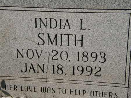 SMITH, INDIA L - La Salle County, Louisiana | INDIA L SMITH - Louisiana Gravestone Photos