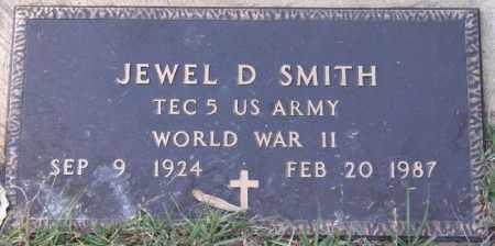 SMITH, JEWEL D (VETERAN WWII) - La Salle County, Louisiana | JEWEL D (VETERAN WWII) SMITH - Louisiana Gravestone Photos