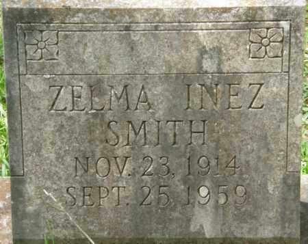 SMITH, ZELMA INEZ - La Salle County, Louisiana   ZELMA INEZ SMITH - Louisiana Gravestone Photos