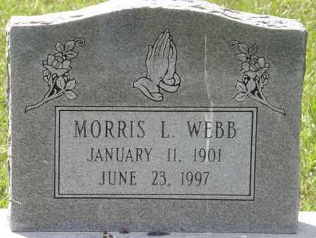WEBB, MORRIS L - La Salle County, Louisiana   MORRIS L WEBB - Louisiana Gravestone Photos