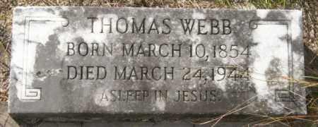 WEBB, THOMAS - La Salle County, Louisiana | THOMAS WEBB - Louisiana Gravestone Photos