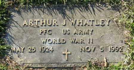WHATLEY, ARTHUR J (VETERAN WWII) - La Salle County, Louisiana   ARTHUR J (VETERAN WWII) WHATLEY - Louisiana Gravestone Photos